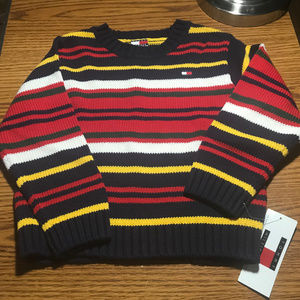 Tommy Hilfiger striped sweater 3T NWT